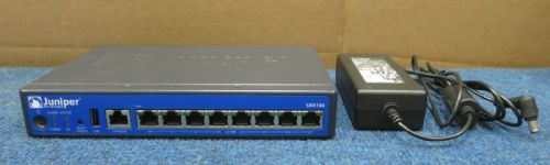 Juniper SRX100H2 - 8 Port Services Gateway Firewall Network Security Appliance